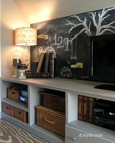 Attic bedroom wall idea