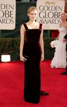 The 50 best Golden Globes gowns of all time: Diane Kruger in Lanvin at the 2006 Golden Globe Awards.