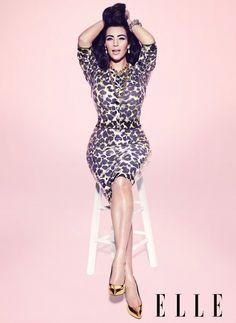 kim kardashian elle maart 2013 2