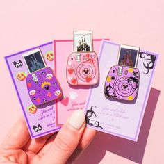 Villains Castle Camera Gold Enamel Pins with sliding Picture Grape Soda, Jacket Pins, Cool Pins, Metal Pins, Pin And Patches, Disney Pins, Pin Badges, Lapel Pins, Pin Collection