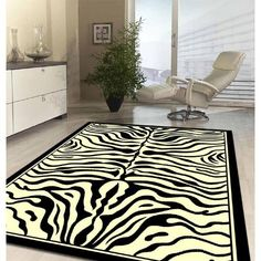 Viva Modern Zebra Design Novelty Rug by Network Rugs. Get it now or find more All Rugs at Temple & Webster. Zebra Print Rooms, Zebra Print Rug, Animal Rug, Animal Pillows, Animal Prints, Home Nail Salon, Novelty Rugs, Carpet Shops, White Rug