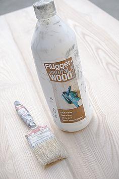 Nasze Wiejskie Zacisze: Ługowanie, czyli kolejny sposób jak wybielić drewno:).