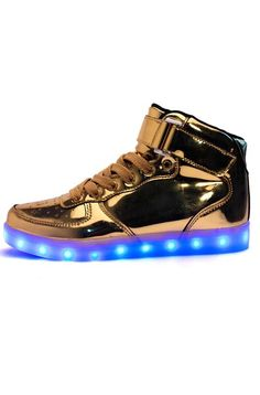 Promotion price LED Light Shoes Men 9 Colors With light up USB Rechargeable  Lighted shoes Flats 520d6e4438a5