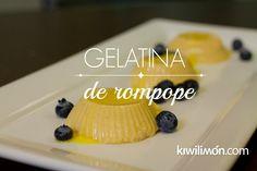 Gelatina de Rompope | Postres para Fiestas | Postres Fáciles