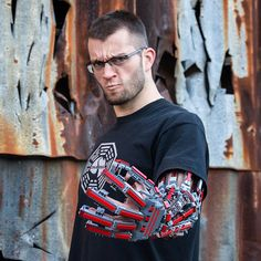 Guy Builds Working Lego Arm Exo-Skeleton   The LAD Bible