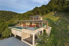 Stunning Residence In Ko Samui Combines Serenity With Dramatic Views I stayed here!!!