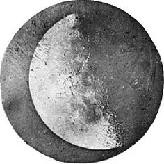 1839 - Louis Jacques Mandé Daguerre took the first photograph of the Moon.