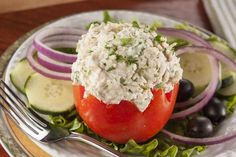 Tuna Stuffed Tomatoes | EverydayDiabeticRecipes.com