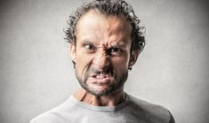 Angry Man Stock Photo, Picture And Royalty Free Image. Trauma, Happy Smiley Face, Angry Face, Side Portrait, Angry Person, Pointing Fingers, Document Sign, How To Make Drawing, The Hours