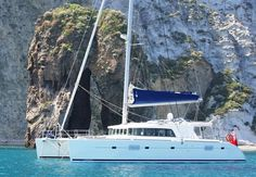 Yacht delivery of Lagoon 500...