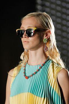 AND Prada car sunglasses. Needz to have. - via style.com