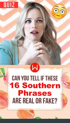 Can you get on this Southern Phrase quiz? Only a true southern belle could! Southern phrases that only locals understand. Can we check if you're really from the South? Southern Phrases, Take A Quiz, Interesting Quizzes, When Im Bored, Southern Belle, Trivia, Vocabulary, Fun Facts, Knowledge