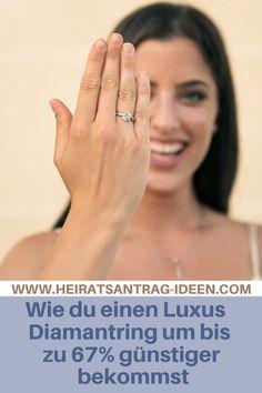 So kannst du beim Verlobungsringkauf zusätzlich Geld sparen. Fitbit, Engagement Rings, Princess Cut, Ring, Enagement Rings, Wedding Rings, Diamond Engagement Rings, Engagement Ring