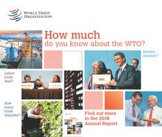 2016 News items - WTO issues 2016 Annual Report