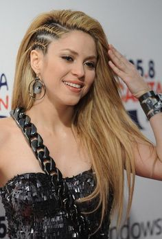 Shakira Hairstyle Long Layered Braided Hairstyle-i love it all!