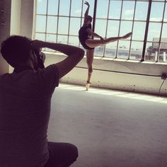 Were shooting dancers at our photo studio today! Are you a dancer? Email model@americanapparel.netwith your photos and contact! #AAmodels #AAdance