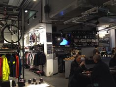 Of course Rapha has a bar in their London store....