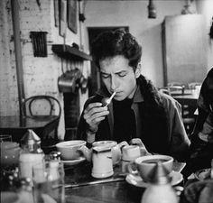 Bob Dylan by Jim Marshall, 1963