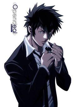 Render Animes et Manga - Renders Psycho pass Kougami Kogami Shinya Dominateur Cheveux noir