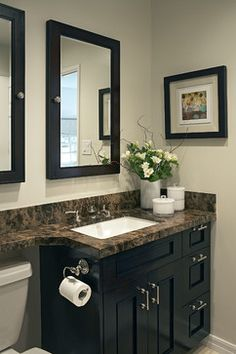 Small Bathroom Design, Pictures, Remodel, Decor and Ideas - page 88- like vanity cabinet
