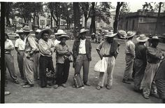 The Bracero History Archive collects and makes available the oral histories and artifacts pertaining to the Bracero program, a guest worker initiative that spanned the years 1942-1964. Millions of Mexican agricultural workers crossed the border under the program to work in more than half of the states in America. World History Classroom, Ap World History, History Images, American History, Nasa History, Mexican American, Ancient History, History Books For Kids, Black History Month Activities