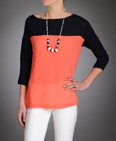 Eight Sixty Colorblock Tunic~South Moon Under