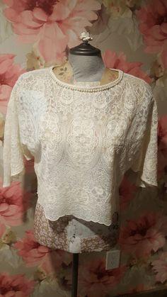 Lovely in lace from Zara