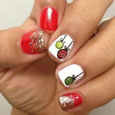 christmas by adelislebron #nail #nails #nailart