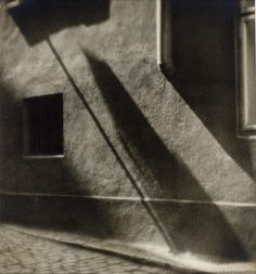 Wall Shadow, 1928, Josef Sudek. Czech (1896 - 1976)