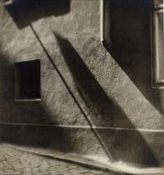 Wall Shadow, 1928, Josef Sudek. Czech (1896 - 1976)