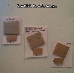 funny quotes - Dad Jokes Hall of Shame (Work Life) Part 9 Funny Texts, Funny Jokes, Stupid Funny, Bad Puns, Funny Pins, Funny Stuff, Random Stuff, Stuff Stuff, Random Things