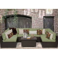 $1622 Found it at Wayfair - Belle 7 Piece Deep Seating Group with Cushion