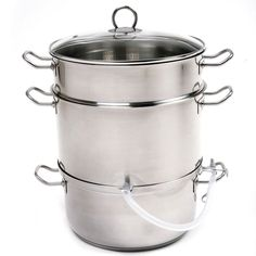 Norpro 619 Stainless Steel Steamer Juicer Cooker 11.75qt * Wow! I love this. Check it out now! : Pressure Cookers