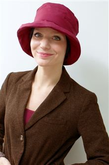 3432641f1c7 Who says rain hats have to boring  Or not stylish  Our Beth style -