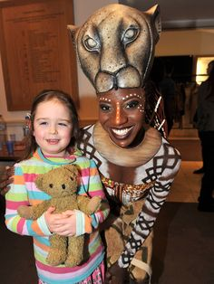 Cast of The Lion King bring musical wonder to GOSH patients #GOSH #Musical #NewYork #AskaTicket