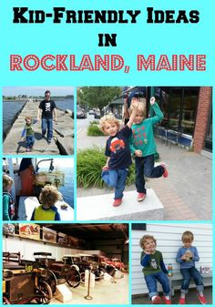 Rockland, Maine is a great town for families! We give lots of ideas for Rockland restaurants and activities to help parents relax and kids enjoy. Kids | Travel