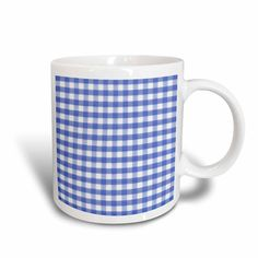 3dRose Dark Blue and white Gingham pattern - cute navy retro checks checkered checked kitchen dining theme -- Visit the image link more details.