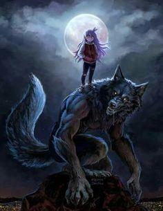 World of Wolfs and Werewolfs Photo: Werewolf Dark Fantasy Art, Fantasy Wolf, Fantasy Kunst, Character Art, Character Design, Wolf Artwork, Werewolf Art, Art Manga, Vampires And Werewolves