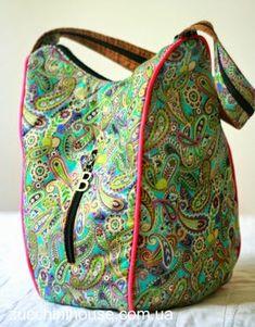 Еще одна сумка. Эксперимент с фасоном. / Yet another bag. Experiment with style.   Домик маленького Цукиня