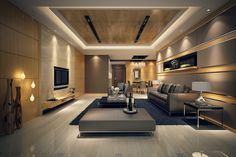 Modern Living Room Wonderful With Image Modern Living Plans Decoration
