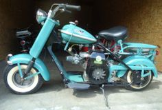 1957 Cushman Eagle Motorcycle Scooter | eBay