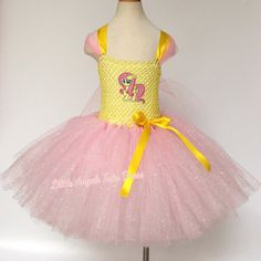 Check out this item in my Etsy shop https://www.etsy.com/uk/listing/256840520/mlp-fluttershy-dress-my-little-pony-tutu