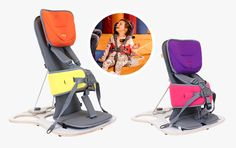 The lightweight, portable seat that promotes inclusion and participation in everyday life.