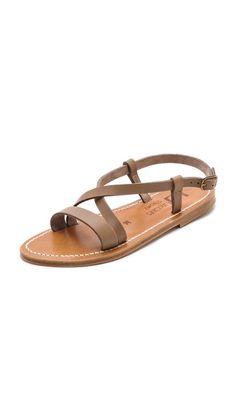 K. Jacques Flavia Crisscross Sandals  Shopbop 6-2014  $248