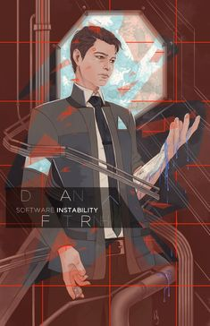 Detroit become human Connor By: lilith-luxe.tumblr.com