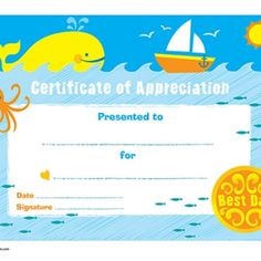 World's Greatest Dad Certificate