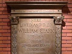 Want to learn about Lewis and Clark? Here are several sites to visit. If you go to the Arch, make time for the Lewis and Clark museum at the entrance. Lewis And Clark Trail, William Clark, Louisiana Purchase, Road Trip Hacks, And So The Adventure Begins, Vintage Photographs, Historical Sites, Monuments, Vacation Ideas