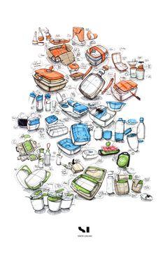 Sketch by Simon Leblanc. #sketch #rough #design #productdesign
