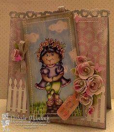ONECRAZYSTAMPER.COM: Wishing for Spring! High Hopes Stamps