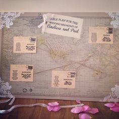 52 best world map wedding table plan images on pinterest wedding vintage world map wedding table plan publicscrutiny Image collections